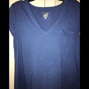 Lilly Pulitzer Luxletic Blue Tee Shirt!! XS